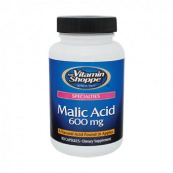 Ácido Málico 600mg Vitamin Shoppe