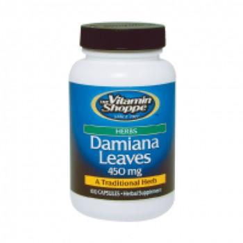 Damiana Extrato 450mg (Turnera Diffusa) Vitamin Shoppe