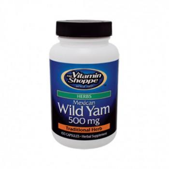 Yam Selvagem 500mg (Dioscorea Vilosa)
