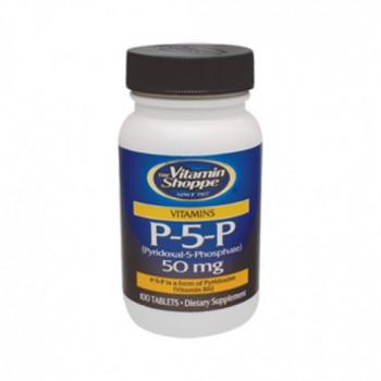 Fosfato de Piridoxal 50mg (Vit. B-6) Vitamin Shoppe