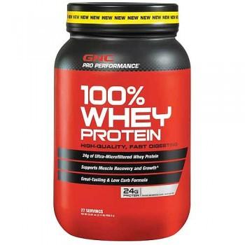 GNC Whey Protein 100% (Baunilha) 900g