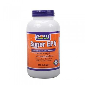 Ômega-3 Super EPA NOW (EPA 720mg + DHA 480mg)