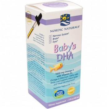 DHA p/ Bebê em Gotas (Ômega-3 Desenvolvimento da Inteligência)