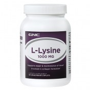 GNC L-Lisina 1000mg (Tratamento p/ Herpes) 90