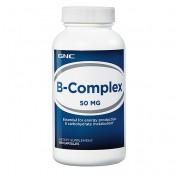 GNC Vitamina Complexo-B 50mg (Energia + Anti-Stress) 100