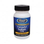 Sulfato de Vanadio 2mg (Massa Muscular + Diabetes) Vitamin Shoppe
