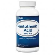 GNC Ácido Pantotênico 500mg (Complexo B-5 Anti-Stress)