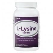 GNC L-Lisina 500mg (Reparação dos Músculos) 250