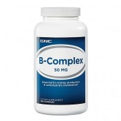 GNC Vitamina Complexo-B 50mg (Energia + Anti-Stress) 250