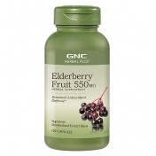 GNC Sabugueiro/Elderberry 550mg (Expectorante + Laxante)