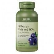 GNC Mirtilos/Bilberry Extrato 60mg (Saúde dos Olhos)