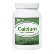 GNC Cálcio 600mg + Vitamina D-3 400 UI (Ossos Fortes)