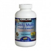 Multivitamina Diaria p/ Adultos Kirkland 500 (1 Ano de Terapia)