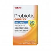 GNC Complexo Probióticos 50 Bilhões de Microorganismos/50 UFC (Flora Intestinal)