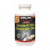 Glucosamina 1500mg + Condroitina 1200mg Força Maxima Kirkland (220 Cápsulas)