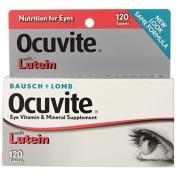 Ocuvite c/ Luteína 2mg Baush & Lomb (Saúde dos Olhos) 120