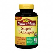 Vitamina Complexo-B Super Nature Made (Energia + Anti-Stress) 460 Cápsulas