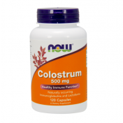 Colostro 500mg NOW (Sistema Imune) 120