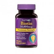 Biotina 10.000mcg Natrol (Queda de Cabelo) 100