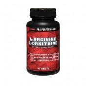 GNC L-Arginina 1500mg + L-Ornitina 1000mg (Pro Performance)