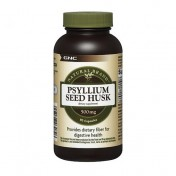 GNC Psyllium Husk 500mg Fibra Natural (Regulador Intestinal) 90