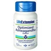 Ashwagandha 125mg (Humor, Sono, Saúde Mental) Life Extension 60
