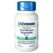 Vegetais Crucíferos Ação Tripla Life Extension 60