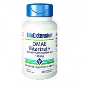 DMAE 150mg (Dimetilaminoetanol) Life Extension