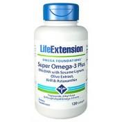 Super Ômega (Ácido Graxo Omega-3) Life Extension 120