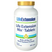 Mix Tablets (Nutrição Concentrado de Vegetais e Frutas) Life Extension 315