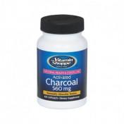 Carvão Ativado 560mg (Desintoxicação) Vitamin Shoppe