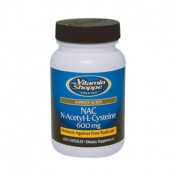 N-Acetil-Cisteína/NAC 600mg (Antioxidante) Vitamin Shoppe