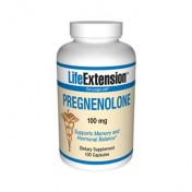 Pregnenolona 100mg (Equilíbrio Hormonal) Life Extension 100