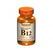Sundown Vitamina Complexo B-12 6mg (Sublingual)