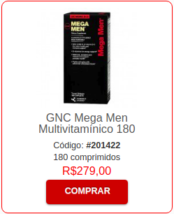 Multivitaminico Mega Men GNC