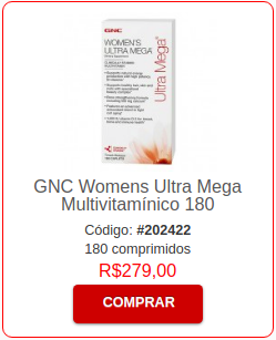 Multivitaminico Feminino GNC Women